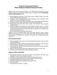 Panduan Penyusunan Proposal Hibah Simposium Nasional ...