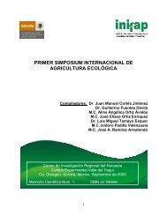 primer simposium internacional de agricultura ecológica