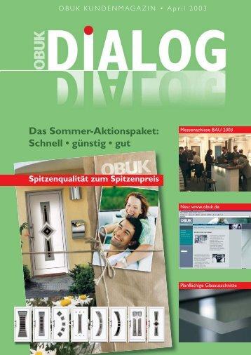 DIALOG 03/2003 (Page 1) - Obuk