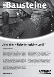 """Migration – Reise ins gelobte Land?"" - Adveniat"