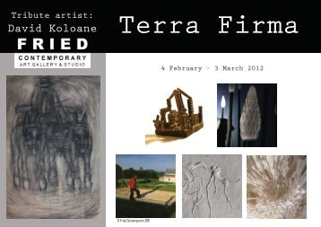 Download the exhibition catalogue - Fried Contemporary Art Gallery ...