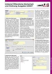 InfoBrief ÖSI 3/2007 - AdKomm Software GmbH