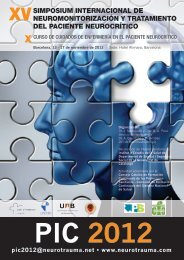 Programa Simposium PIC 2012 - Neurotrauma.NET
