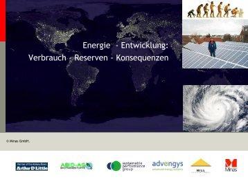 20 % Endenergie, plus 30 % Stromverbrauch - Advengys