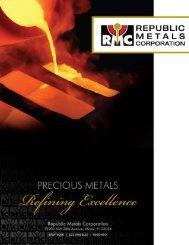 download brochure - Republic Metals Corporation