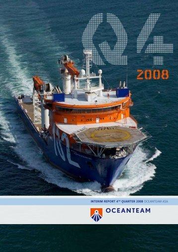 Q4 2008 OCEANTEAM ASA INTERIM REPORT 4Th QUARTER ...