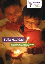 Feliz Navidad Weihnachtsbräuche aus Lateinamerika - Adveniat