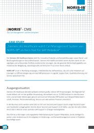 "Case Study: ""Siemens Healthc Call Management System ... - noris-ib"