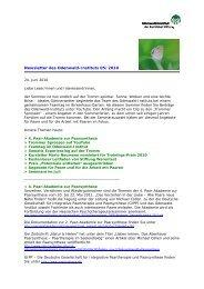 Newsletter des Odenwald-Instituts 05/2010
