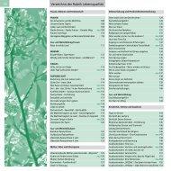Verzeichnis der Rubrik Lebensqualität - Odenwald-Institut