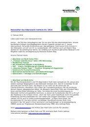 Newsletter des Odenwald-Instituts 01/2010
