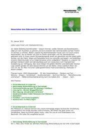 Newsletter 2/2013_21.02.2013 - Odenwald-Institut