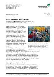 Ausdrucksmalen wächst weiter - Odenwald-Institut