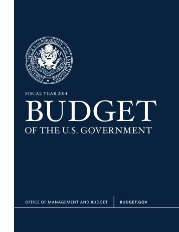 Fiscal Year 2014 Budget - The White House