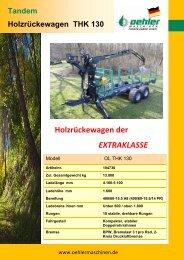 Holzrückewagen der EXTRAKLASSE - Oehler Maschinen