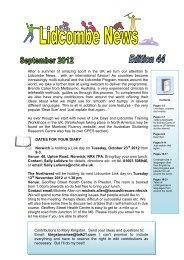 Lidcombe News Edition 44th - Montreal Fluency