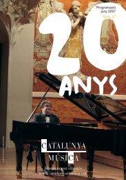 revista juny:REVISTA.qxd.qxd - Catalunya Música
