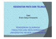KESEHATAN MATA DAN TELINGA - Staff UNY - Universitas Negeri ...