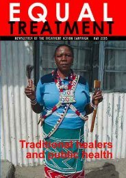 Equal Treatment Issue 15 - Treatment Action Campaign