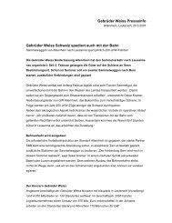 Gebrüder Weiss Presseinfo Gebrüder Weiss Schweiz spediert auch ...