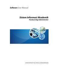 Sistem Informasi Akademik - ICT UNMUL - Universitas Mulawarman