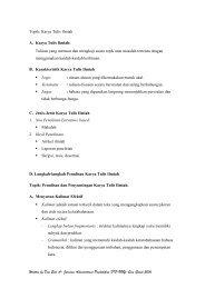Handout Penulisan Karya Ilmiah Pertemuan I.pdf - Staff UNY