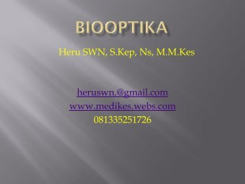 heruswn.@gmail.com www.medikes.webs.com ... - SchoolRack