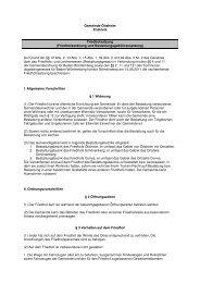 Friedhofsatzung pdf - Gemeinde Ötisheim