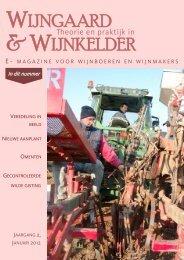 WIJNGAARD & WIJNKELDER - Wijnbouw in Nederland