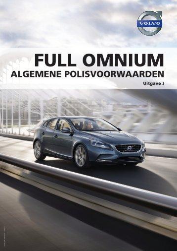Volvo Full Omnium - ESD - Volvo