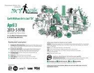 April 3 2013• 5-9 PM - Jacksonville Art Walk