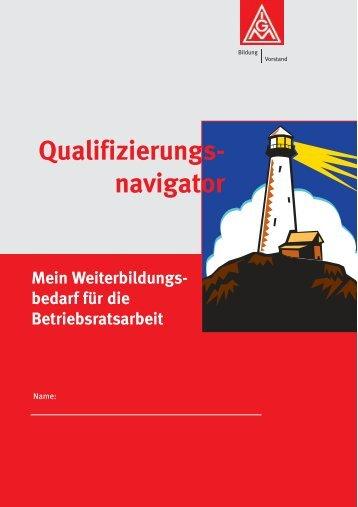 Qualifizierungsnavigator - IG Metall Offenburg