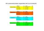 Ergebnisse Winter 2011/12 - NTV