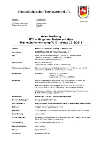 Ausschreibung - NTV