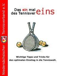 Kein Folientitel - Niedersächsischer Tennisverband e.V.