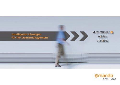 Amando Produkt-Broschüre - OFF LIMITS IT Services GmbH