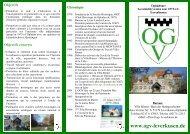 Objectifs - OGV