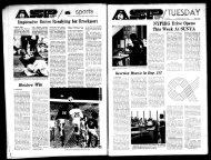 Albany Student Press 1973-10-30 - University at Albany Libraries
