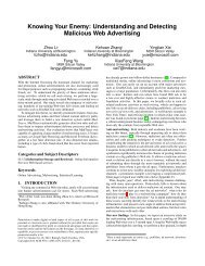 Understanding and Detecting Malicious Web Advertising