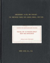 total of 10 pages only may be xeroxed - Memorial University's Digital ...