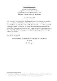 Europaratsempfehlungen für die Haltung von Puten - BMELV