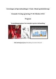 Program FSTMK årsmøde 2012.pdf - Foreningen af ...