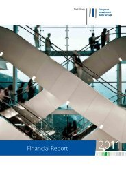 Financial Report 2011 - European Investment Bank