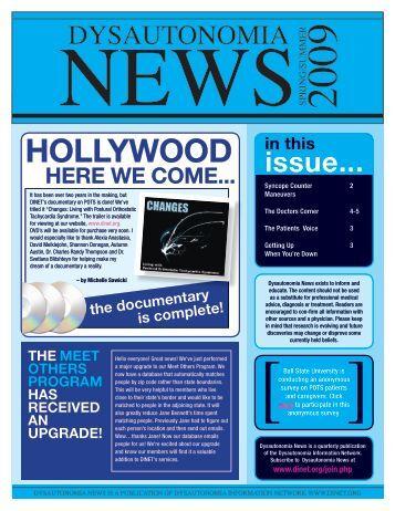 Dysautonomia News Spring/Summer 2009