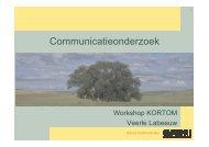 15 OVAM voert onderzoek presentatie Veerle Labeeuw - Kortom