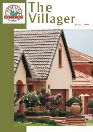 Issue 5 • 2009 - Irene Farm Villages