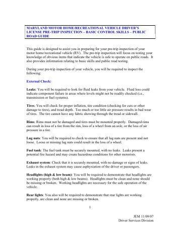Maryland MVA Driver Handbook | DMV.ORG