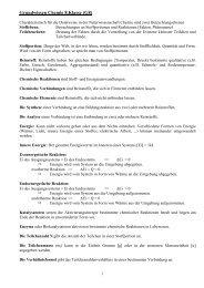 Grundwissen Chemie 8.Klasse (G8) - Ohm-Gymnasium