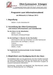 Ohm-Gymnasium Erlangen