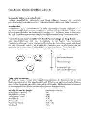 Grundwissen: Aromatische Kohlenwasserstoffe - Ohm-Gymnasium